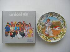 Heinrich Villeroy & Boch UNICEF Kinder der Welt Nr. 7 Spanien + OVP (Nr. 2-7-2)