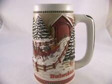 Anheuser Busch 1984 Ltd Edition Budweiser Clydesdale Beer Stein Hitch Ceramarte