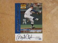 DAVID CLYDE 1999 FLEER AUTOGRAPH COLLECTION SPORTS ILLUSTRATED GREATS SIGNED