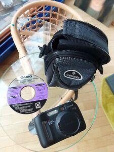 Casio Digital Kamera, Made in Japan, mit Canon Lens, Super Zustand,inkl.Samsonit