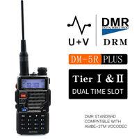 Baofeng DM-5R Plus Digital& Analog dual mode Portable Radio VHF UHF DM-5R+ Radio