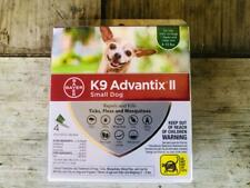 Bayer K9 Advantix II for Small Dogs 4-10 lbs - 4 Pack - Newest Version