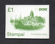 IRELAND 1985 SB27 £1.00 BOOKLET