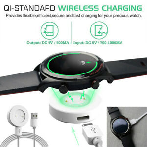 Qi Wireless USB Cable Charging Dock Power Quick Charger For Huawei Watch GT2