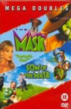 MASK / SON OF THE MASK DVD Jim Carrey Cameron Diaz Chuck Russe UK Release New R2