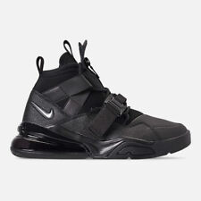 (AQ0572-002) Nike Air Force 270 Utility Black/Metallic Silver *NEW*