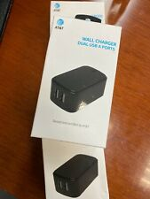 New AT&T Certified 4.8 Amp Fast Universal Wall Charger with Dual USB