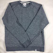 Norse Projects Ketel Mouline Sweatshirtsz XL Grey EUC