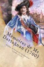 Memoires de Mr Dartagnan (1700) by Gatien de courtilz de Sandras (1644-1712)...