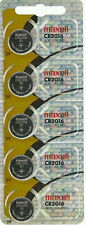 5 MAXELL CR2016 Lithium Batteries. Hologram Package. (Pack of 5) cr 2016 3V