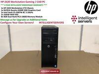 HP Z420 Workstation Intel Xeon E5-2687W 3.1GHz 64GB RAM 256GB SSD Nvidia K4000