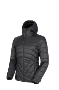 MAMMUT Mens Rime IN Hooded Down Jacket Black Size M