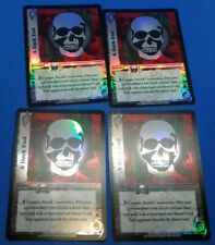UFS Foil/Promo Cards x4 - Street Fighter Soul Calibur - Playset of A DARK END