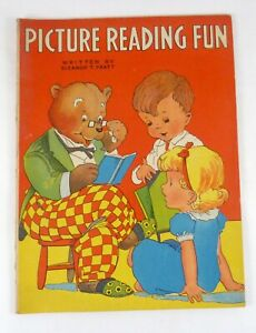 Picture Reading Fun by Eleanor T. Pratt Activity Book McLoughlin Bros. Inc ©1935