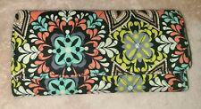 Vera Bradley Tri-Fold Multi-color Floral Wallet Pre-Owned