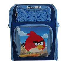 Brand New Angry Birds 4 Season Blue School Bag Backpack Back Pack 360-Degree