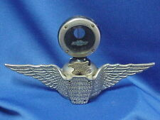 CHEVROLET Boyce Motometer Radiator Cap Hood Ornament EAGLE Monogram Chevy Emblem