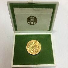 1964 Tokyo Olympic Copper Medal Original Case & Paperwork Vintage & Rare Japan B