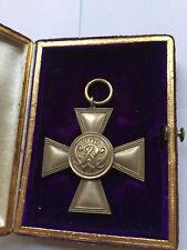 Preußisches goldenes Militär Verdienstkreuz 1864 Pour le Merite Unteroffizier