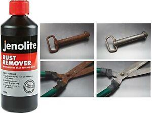 Jenolite Rust Remover Liquid 500g - Rust Killer, Cures Rust On Rusty Metal