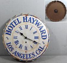 """Wanduhr """"Hotel Hayward"""" Kronkorken Californien Bar Kneipe Küche Café rund 41,5cm"""