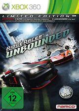 XBOX 360 JUEGO RIDGE RACER UNBOUNDED EDI - Limitado Edición Producto NUEVO