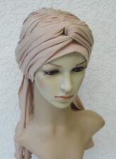 Desgaste de la cabeza de volumen, Bufanda de Cabeza de mujer, elegante tichel, Bad Hair Day turbante Redecilla
