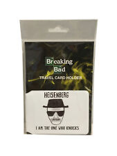 Official Breaking Bad Heisenberg ID Wallet Travel Pass Card Holder - Great gift!