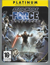 PS3 Star Wars - The Force Unleashed - Platinum Sony PlayStation 3 USK-Version