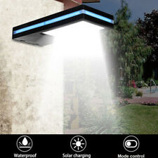 144 Led Solar Power Rechargeable Light Sensor Security Wall Light Shed Lamp