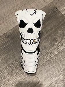 New  Scotty Cameron 2017 Halloween Knock Em Dead Skull Blade Headcover