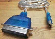 InLine® USB zu 36pol Centronic, Drucker-Adapterkabel, 1,8m