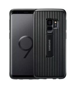 100%GENUINE SAMSUNG S9+ PLUS BLACK PROTECTIVE QI BUMPER TEXTURE GRIP CASE COVER
