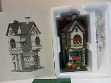 Dept 56 Christmas In The City Corner Grocer Hank'S Market #59706 - New
