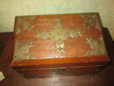 An old Victorian or Edwardian stationery box