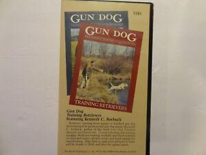 GUN DOG Training Retrievers Featuring Kenneth C. Roebuck - VHS Tape   AA87