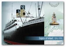 """Canada - """"SHIPS ~ EMPRESS OF IRELAND"""" Mint Pre-Paid Post Card 2014 !"""