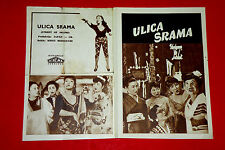 AKASEN CHITAI 1956 KENJI MIZOGUCHI MACHIKO KYO JAPANESE RARE EXYU MOVIE PROGRAM