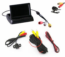 Car SUV 170 Degree Front/Rear View  Camera & 4.3 Inch Rear View Foldable Screen
