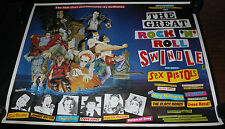 Great Rock N' Roll Swindle with the Sex Pistols Movie Poster - Punk (C6/C7) 1980