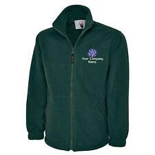Personalised Mechanical Engineering Logo Embroidered Fleece Jacket Mechanic LOGO