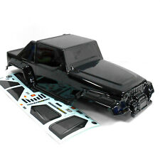 10314 08035 RC 1/10 Scale Monster Truck Body Shell Black Nitro / Electric