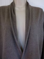 Old Navy - Brown Light Weight Cotton Blend Roll Collar Open Cardigan -Size- M*
