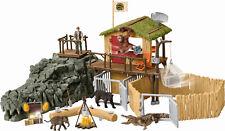 Schleich 42350 Dschungel Forschungsstation Croco