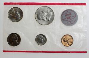 1961 PD UNITED STATES COIN SET GEM BU ORIGINAL ENVELOPE INCLUDED