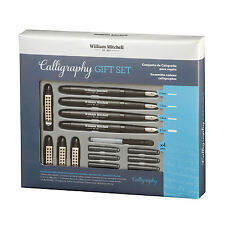 William Mitchell COMPLET 4 Stylo calligraphie ENSEMBLE-CADEAU