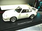 PORSCHE 911 993 Cup RS 3.8 white weiss plain body 1996 Resin Schuco Pro R 1:43