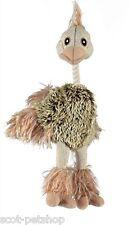 Ostrich Plush & Rope Dog Toy 35 cm