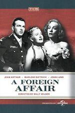 A Foreign Affair DVD 1944 Jean Arthur, Marlene Dietrich, John Lund, Billy Wilder