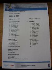 21/04/2012 Birmingham City Youth v Arsenal Youth [At Wast Hills] (Colour Single